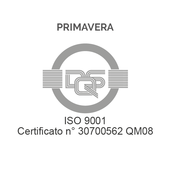 ISO 9001 – PRIMAVERA